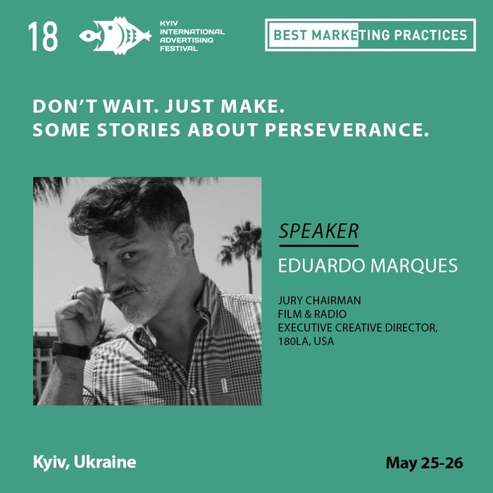 Eduardo Marques из 180LA, США выступит на конференции Best Marketing Practices